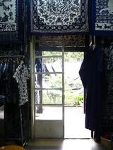 中国藍印花布館売店