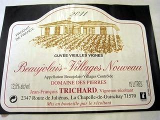 Beaujolais Villages Nouveau 2011