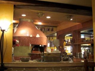 カンティーナのピッザ窯
