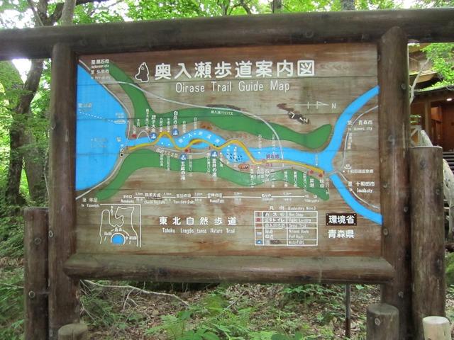 奥入瀬渓流案内