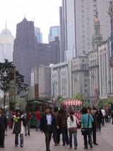 南京東路から見た西側風景