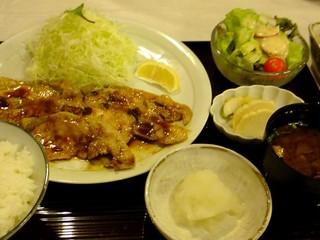 生姜焼き定食@まい泉青山店