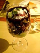 シェフ特製チョコレートパフェ