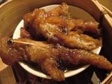 鶏足の黒豆ソース蒸し@招福門