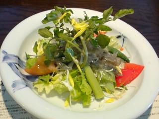 野菜とシラスのサラダ