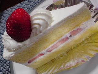 イチゴのショートケーキ@マロン