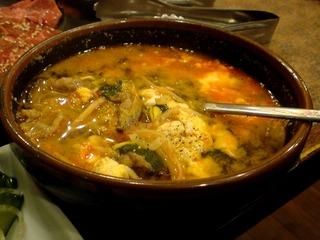 玉子と野菜のスープ