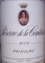 Reserve de la Comtesse 2002