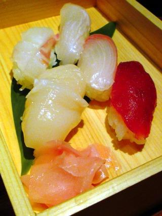 にぎり寿司盛り合わせ5貫