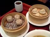 上海小籠包と黒豚焼売@YUJIN