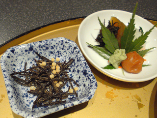 鯛茶漬け薬味@箱根瓔珞