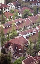 オークラ上海から眺めた長楽邸
