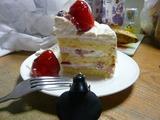 切った49歳ケーキとレゴヴェイダー