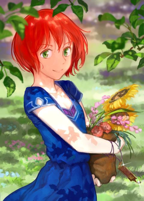 赤髪の白雪姫 壁紙・画像・待ち受け その1 30枚 5枚目