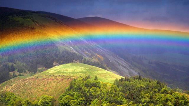 見ていると心が晴れる!様々な虹の美しい高画質な画像・壁紙!