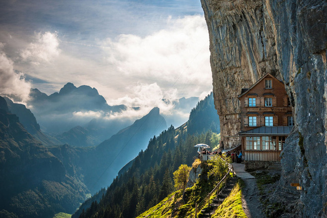 Berggasthaus-Aescher-Hotel-Built-Into-Swiss-Alps-1