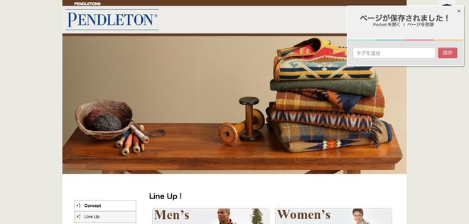PENDLETON ペンドルトン オフィシャルサイト