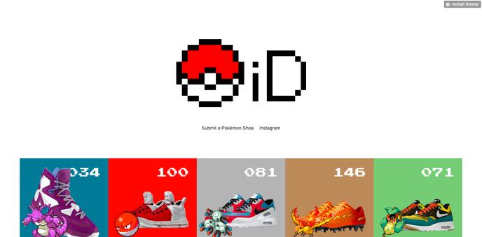 Pokémon Nike iD0