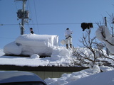 昨年の雪下ろし
