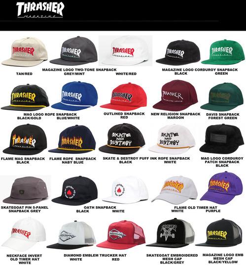 stock thrasher cap