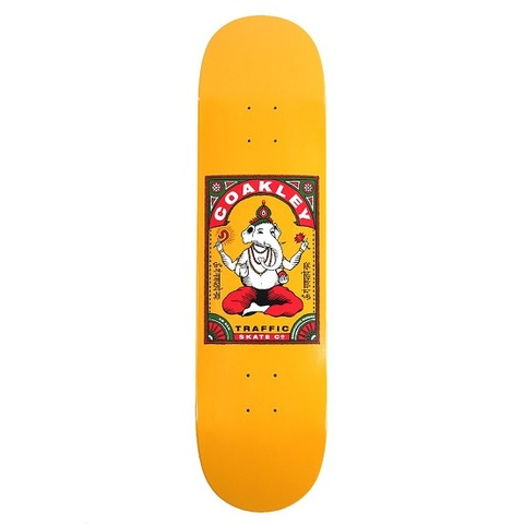 TRAFFIC-SKATEBOARDS-GANESHA-KEVIN-COAKLEY-PRO-DECK