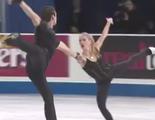 アレクサ・シメカ&クリス・クニエリム スケートアメリカ2015
