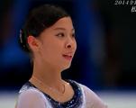 松田悠良 全日本選手権2014