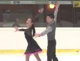 深瀬理香子&立野在 JGPオーストリア杯2015