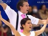 村元哉中&クリス・リード 全日本選手権2015