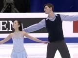 須藤澄玲&フランシス・ブードロ・オデ 四大陸選手権2016