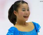 白岩優奈 全日本選手権2015