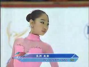 長洲未来 世界Jr選手権06 フリー