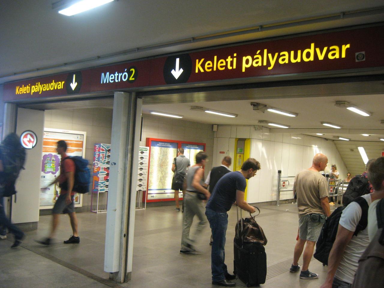 ブダペスト地下鉄M2号線について...