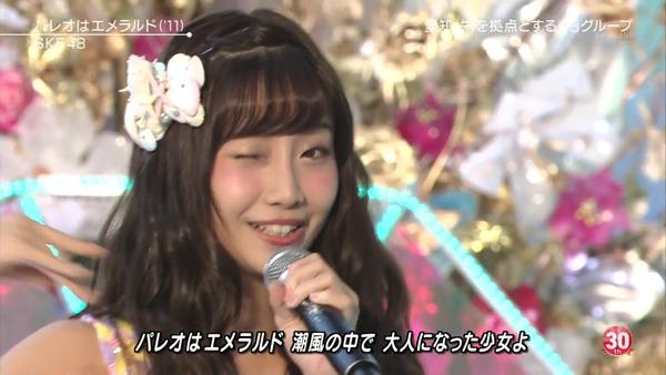 ミュージックステーションSKE48柴田阿弥010
