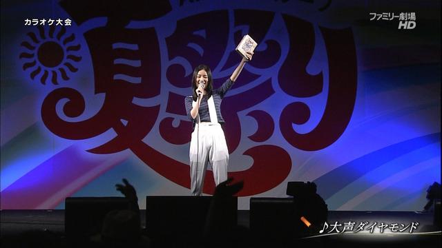 松井珠理奈夏祭り大声ダイヤモンド