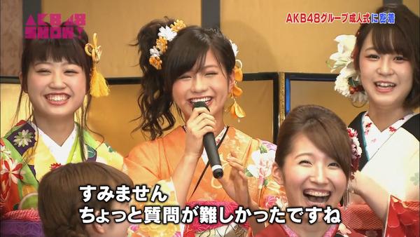 AKB48SHOW紅白潜入レポート38