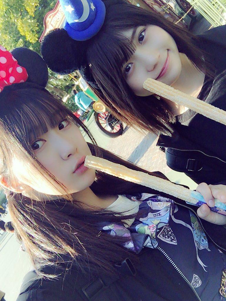 【エンタメ画像】水野愛理「今日は、小畑優奈ちゃんとディズニーに行ってきました!」