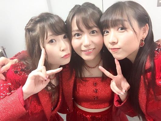高柳明音と須田亜香里と大場美奈が3人揃った時の安心感
