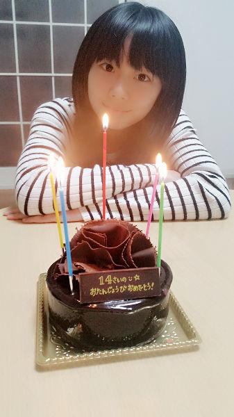 【エンタメ画像】SKE48 深井ねがい 14歳の誕生日 「14歳になったねがいを、これからもよろしくお願いします!!!」