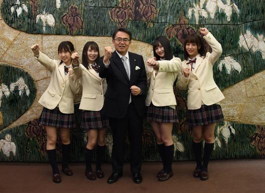 愛知県大村知事SKEにエール「10周年の記念イヤーを元気いっぱい駆け抜け、愛知・名古屋を大いに盛り上げてください!」