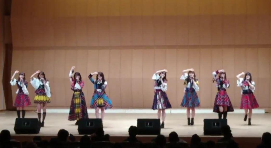 【エンタメ画像】【SKEイズム】小畑優奈さん桜の花びらたちで全力ダンス