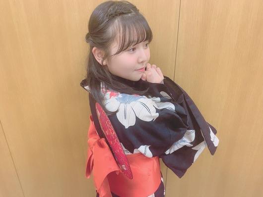 上村亜柚香の浴衣集