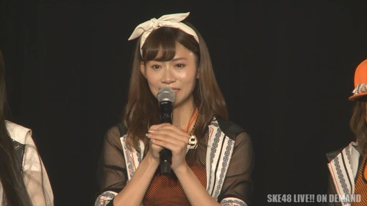 SKE48後藤理沙子卒業!