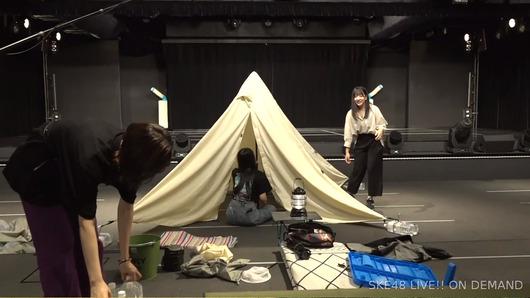 【29時間生配信中】SKE劇場でキャンプw