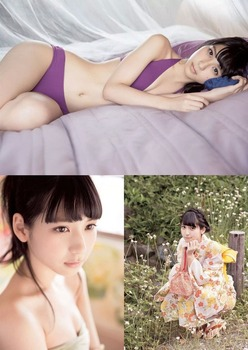 HKT48 松岡菜摘 水着画像  (3)