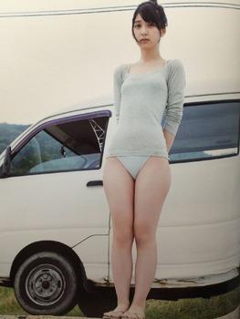 HKT48 松岡菜摘 水着画像 2 (34)