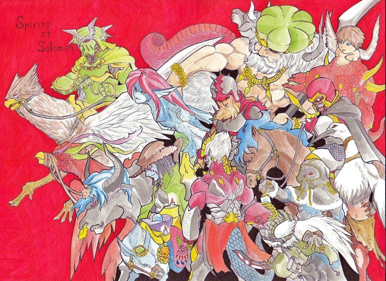 Devil's Illustrations:ソロモン72柱神 ...