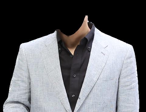 男性着せ替え素材ジャケット