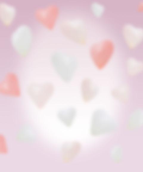 無料素材ハートピンクの背景素材