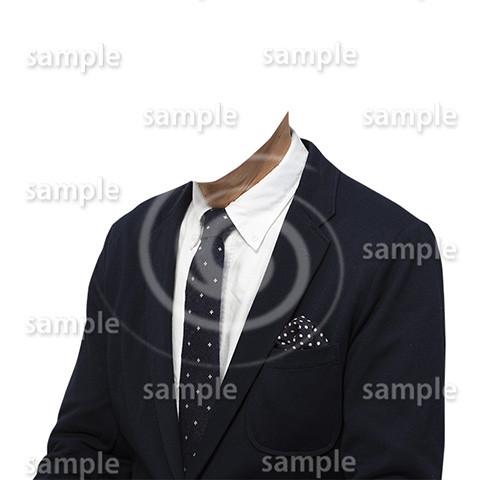C010-男性ジャケット-遺影素材着せ替え
